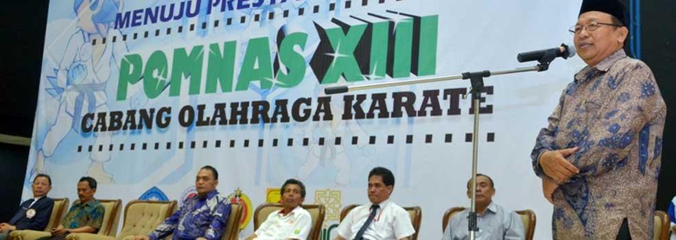 Pembukaan Cabang Karate POMNAS 2013